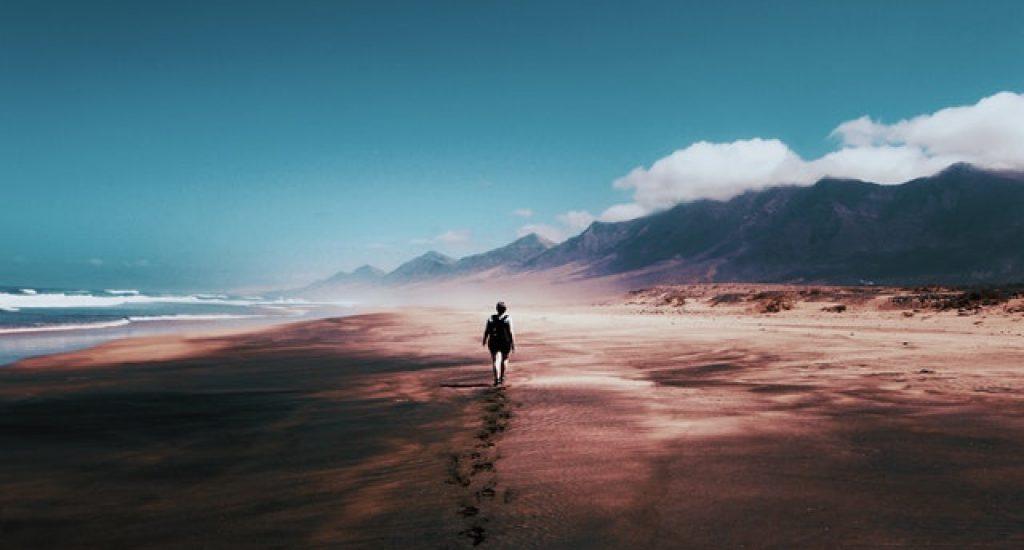 wandelen door de natuur