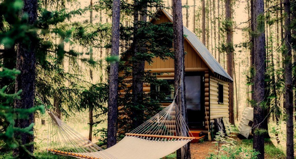zelfvoorzienend houten huis