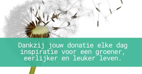 donatie button